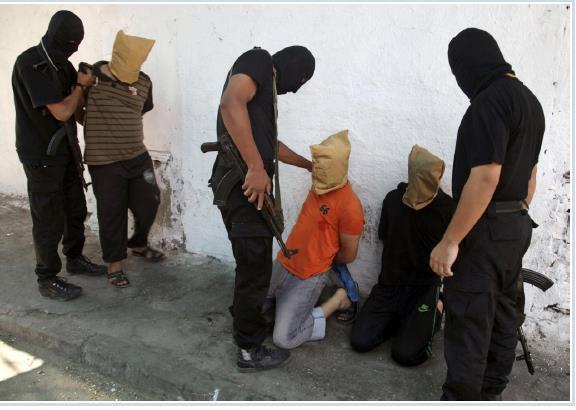 חמאס מוציא להורג 18 פלסטינים ב22/08/2014
