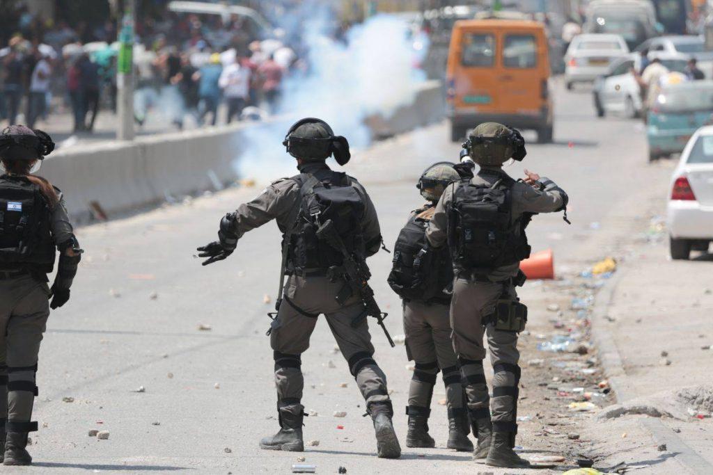 הפרות סדר אלימות במזרח ירושלים וברחבי יהודה ושומרון