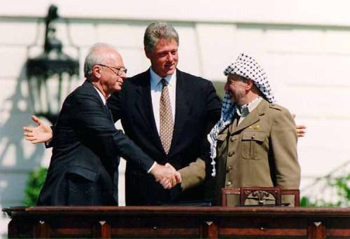 American negotiators (left to right) Jason Greenblatt, Ambassador David Friedman, and Jared Kushner with Prime Minister Netanyahu (U.S Embassy)