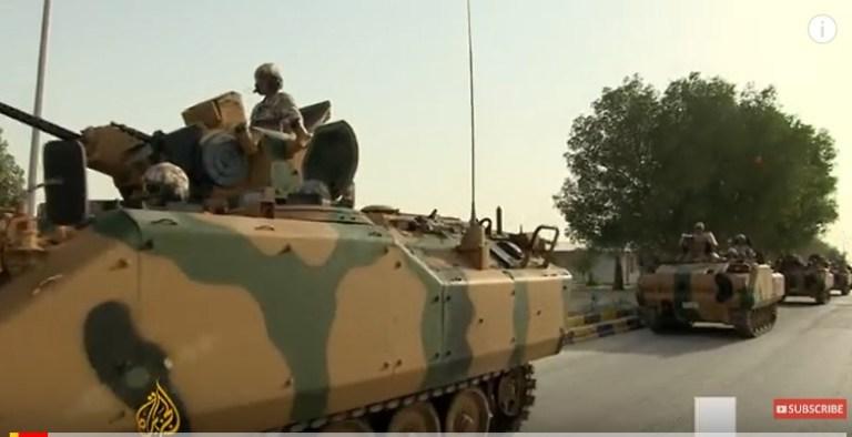 [תמונה] רכבים משוריינים טורקיים מגיעים לקטאר, יוני 2017 (אל ג'זירה) https://www.youtube.com/watch?v=r5b1atY8SHI