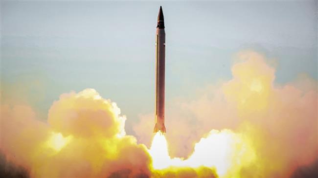 טיל איראני משוגר