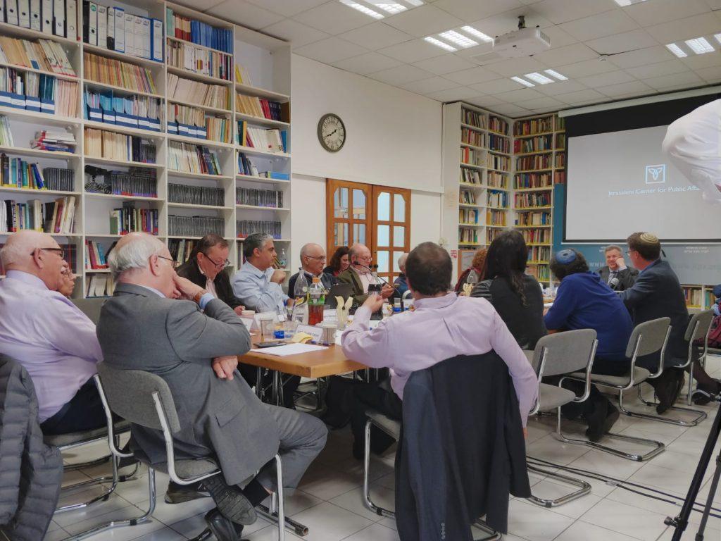 למקד את המאבק בביטוי אנטישמיות מובהקים (יגאל פלמור)// צילום: המרכז הירושלמי לענייני ציבור ומדינה