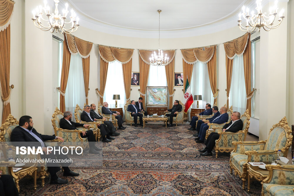 ביקור משלחת חמאס באיראן