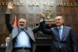 נשיא טורקיה, טאיפ ארדואן וראש חמאס איסמעיל הנייה