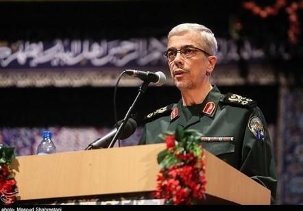 """רמטכ""""ל צבא איראן באקרי"""