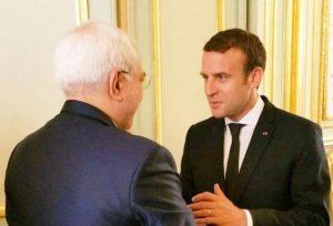 איראן דחתה את הצעת צרפת. פגישת מקרון עם זריף ב G_7