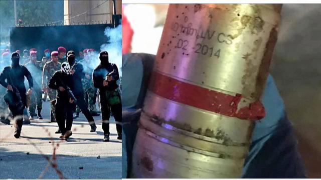 עיראק: רימוני העשן הנורים על ידי האנשים הלבושים בשחור - איראן מתגבר כוחות בעיראק