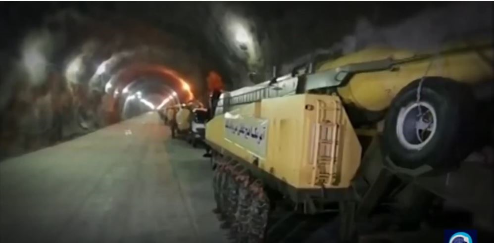 מנהרות תת קרקעיות של איראן