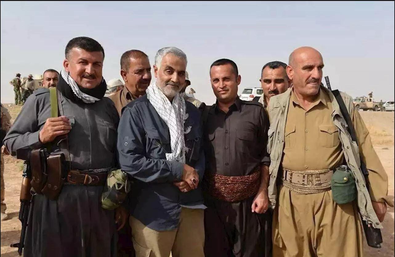 מולא בחתיאר, סגן כוחות פישמרגה אומר כי כורדים עיראקים חייבים לק'אסם סלימאני אשר הציל אותם מידי דאעש.