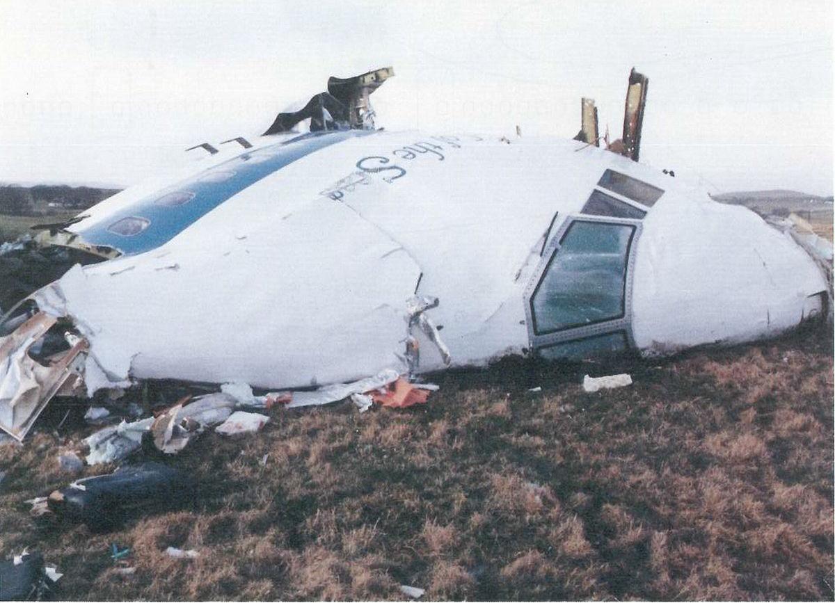 תמונה: מטוס הנוסעים שהופל בלוקרבי