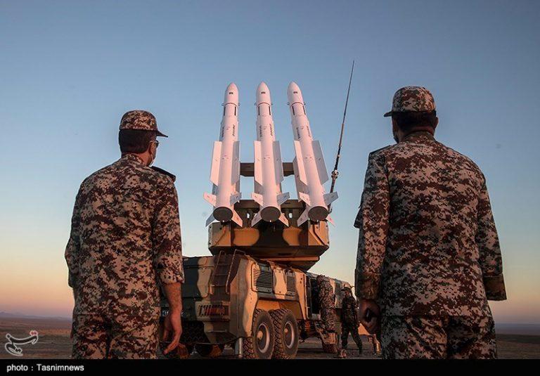 צבא איראן בתרגיל