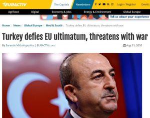 תמונה: טורקיה נגד האולטימטום