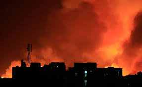 הפצצות ישראל בסודן