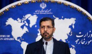 דובר משרד החוץ של איראן תוקף את ישראל