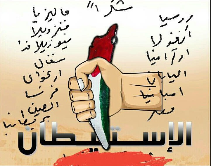 Abbas' Fatah thanks the countries who voted for UNSC res 2334 by showing a knife (map of Israel) & a pool of Israeli blood.