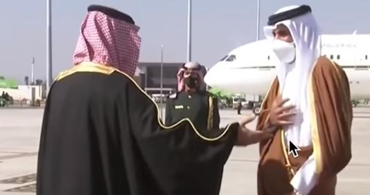 שליט קטר מתעלם מן היד המושטת של מוחמד בן סלמאן