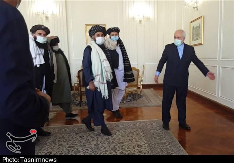 """שה""""ח של איראן זריף מארח את משלחת הטאליבן"""
