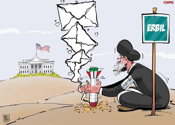 (איראן משגרת איתותים לממשל ביידן)