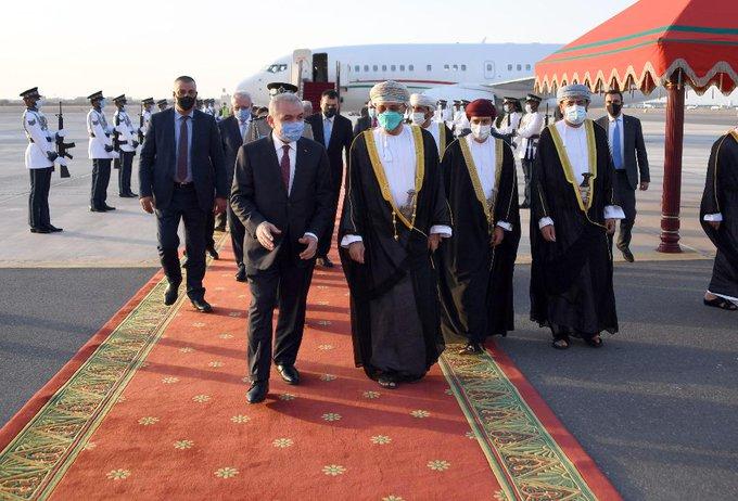 """פגישת ראש הממשלה של הרש""""פ עם מלך עומאן"""