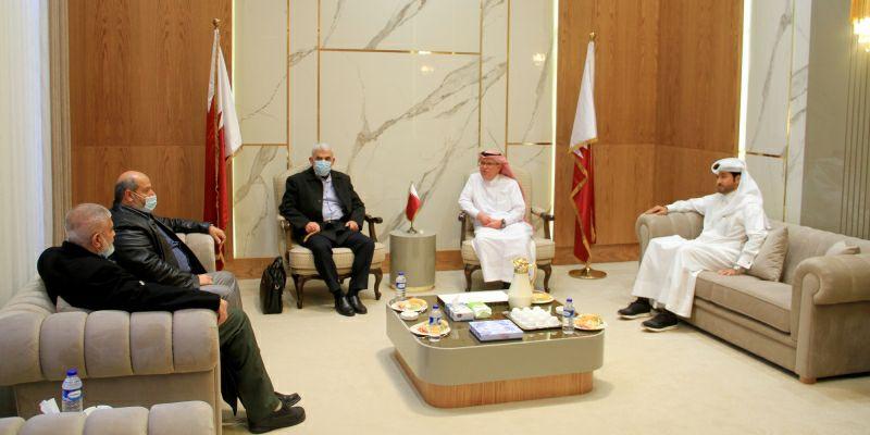 פגישה לבין הנציג הטארי לבין מנהיג החמאס