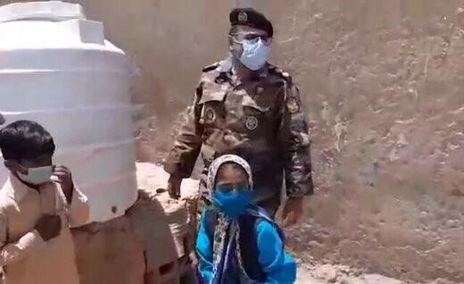 גם הצבא הסדיר מסייע בהעברת מים למחוזות הנתונים למשבר חמור, התמונה: חבראנליין,10.7.2021
