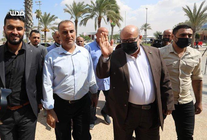 יציאת משלחת חמאס למצרים